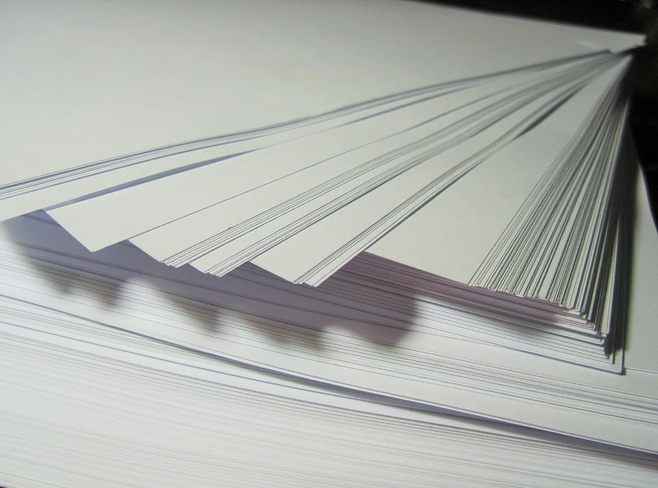 carta per fotocopia