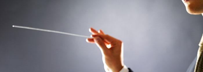 direttore orchestra tono di voce