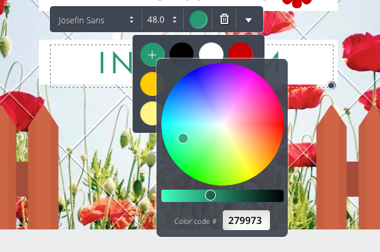 canva color palette