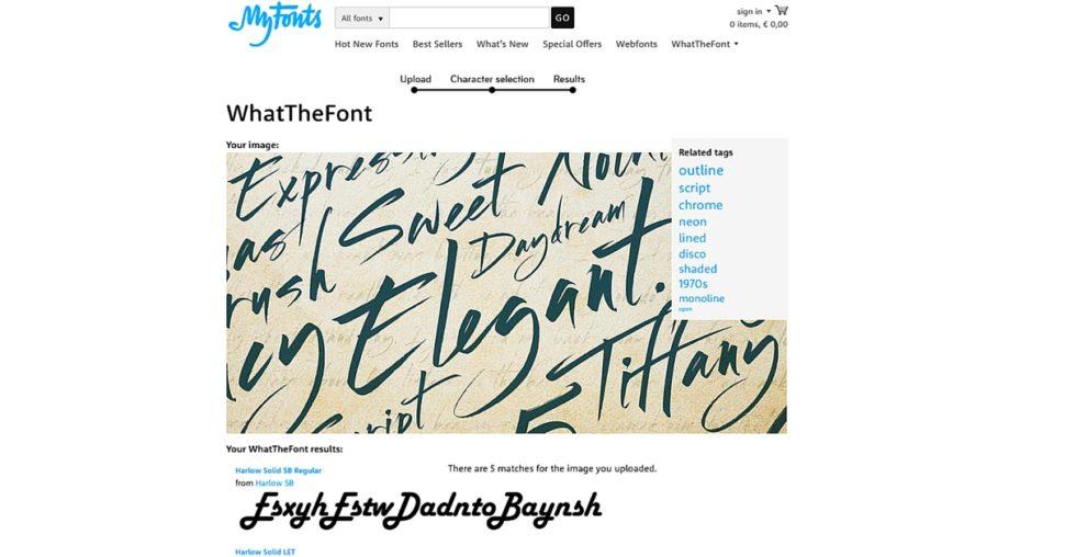 what the font screenshot