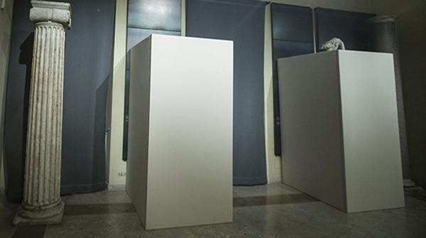 Scatole di cartone per statue